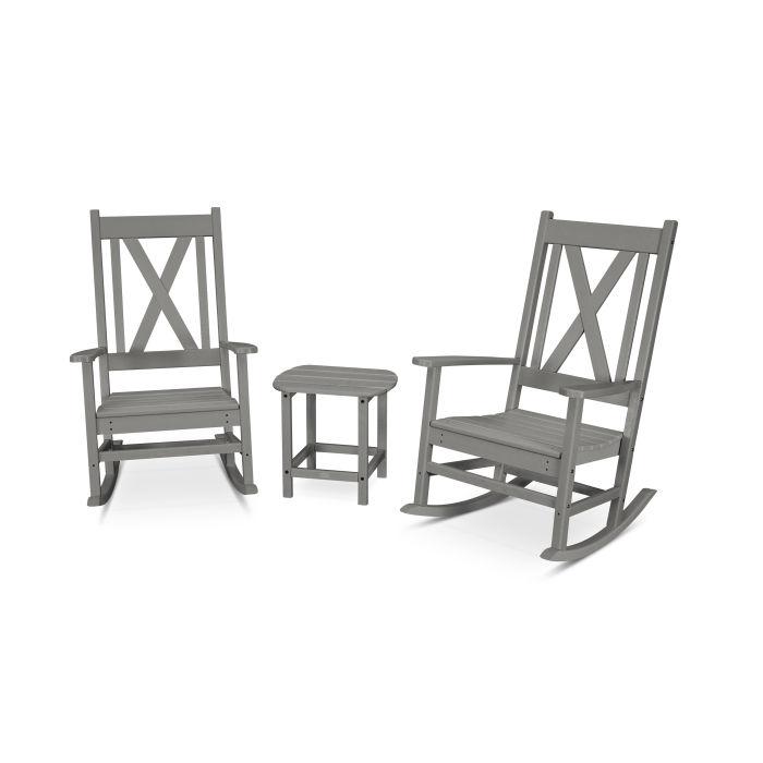 Braxton 3-Piece Porch Rocking Chair Set