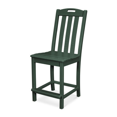 Yacht Club Counter Side Chair in Rainforest Canopy