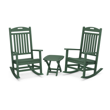 Yacht Club 3-Piece Rocker Set in Rainforest Canopy