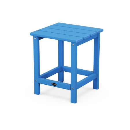 """Eastport 18"""" Side Table in Pacific Blue"""