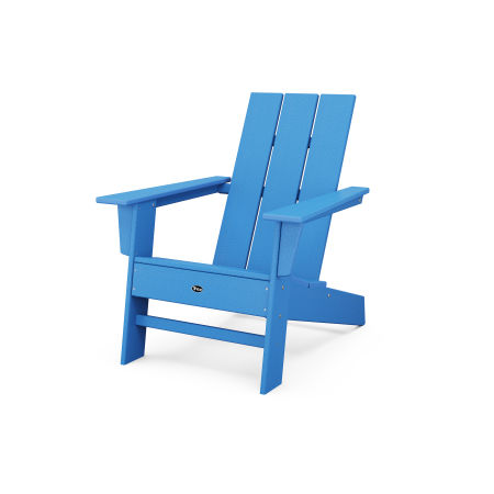 Eastport Modern Adirondack Chair in Pacific Blue