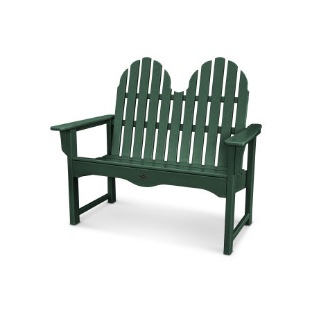 "Cape Cod Adirondack 48"" Bench in Rainforest Canopy"