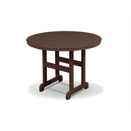 "Monterey Bay Round 36"" Dining Table in Vintage Lantern"