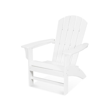 Yacht Club Adirondack Chair in Classic White