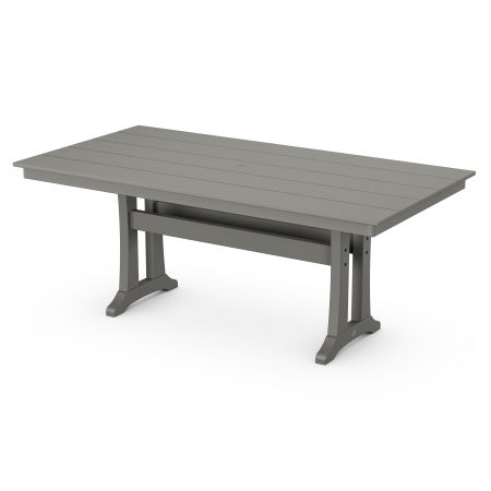 "Farmhouse 37"" x 72"" Dining Table in Stepping Stone"