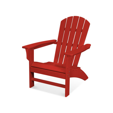 Yacht Club Adirondack Chair in Sunset Red