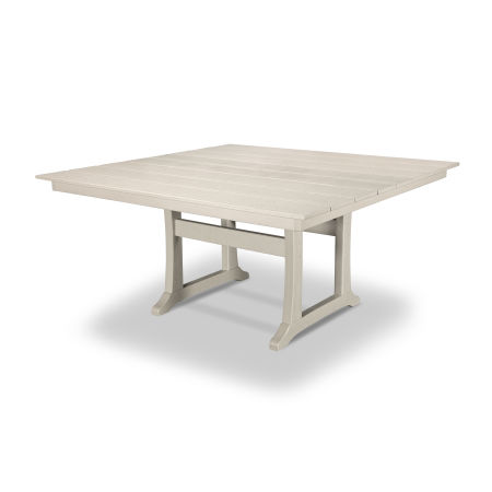 "Farmhouse 59"" Dining Table in Sand Castle"