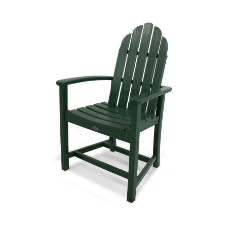 Cape Cod Adirondack Dining Chair in Rainforest Canopy