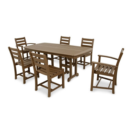 Monterey Bay 7-Piece Dining Set in Tree House