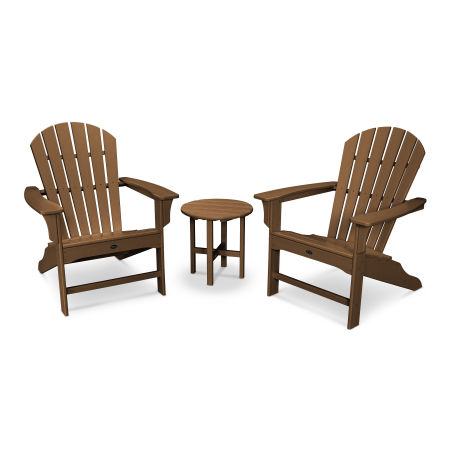 Yacht Club Shellback 3-Piece Adirondack Set in Tree House