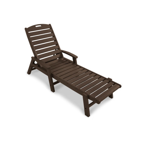 Yacht Club Chaise with Arms - Stackable in Vintage Lantern