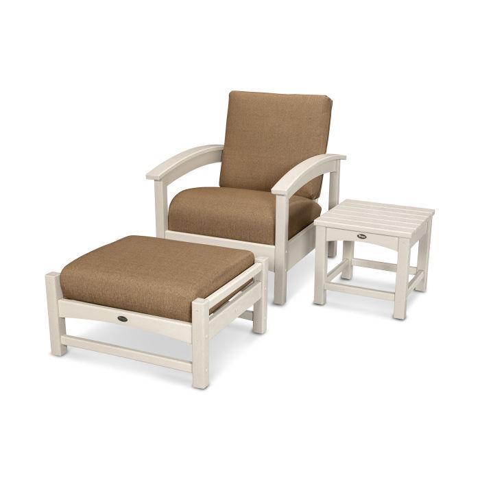 Rockport 3-Piece Deep Seating Set