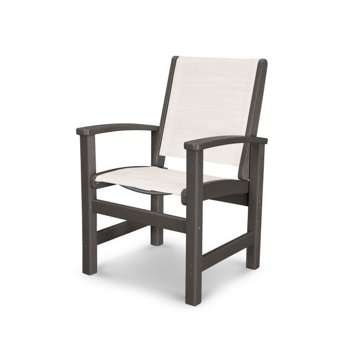 Coastal Dining Chair in Vintage Finish