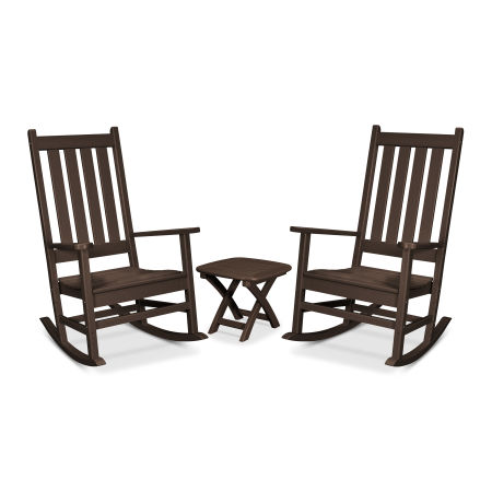 Cape Cod 3-Piece Porch Rocking Chair Set in Vintage Lantern