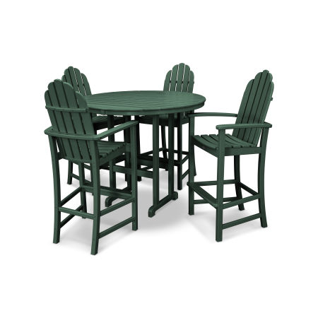 Cape Cod 5-Piece Bar Set in Rainforest Canopy