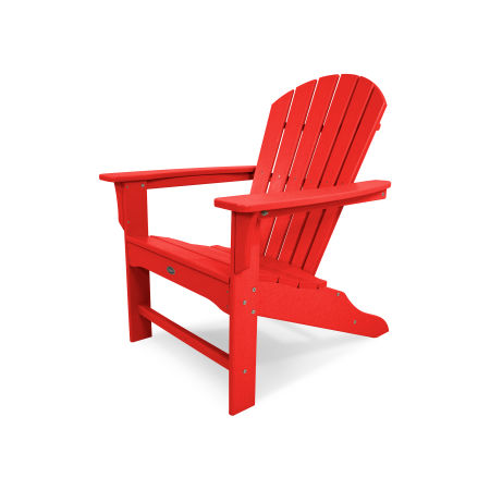 Yacht Club Shellback Adirondack Chair in Sunset Red
