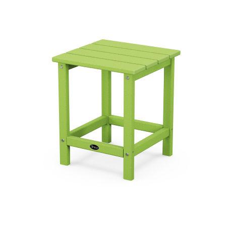 "Eastport 18"" Side Table in Lime"