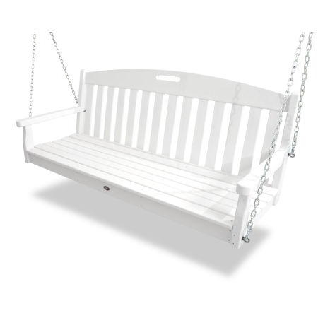 Yacht Club Swing in Classic White