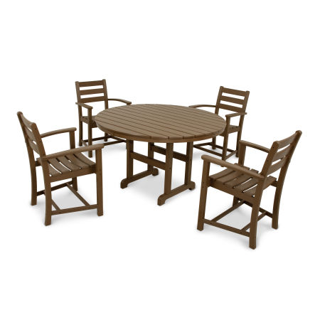 Monterey Bay 5-Piece Dining Set in Tree House