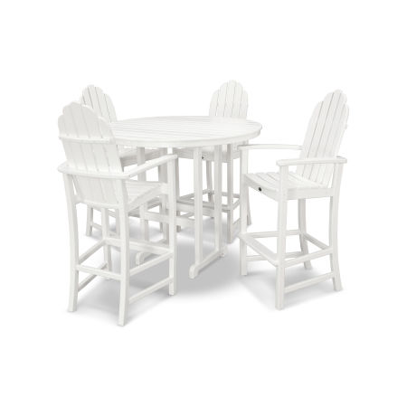 Cape Cod 5-Piece Bar Set in Classic White