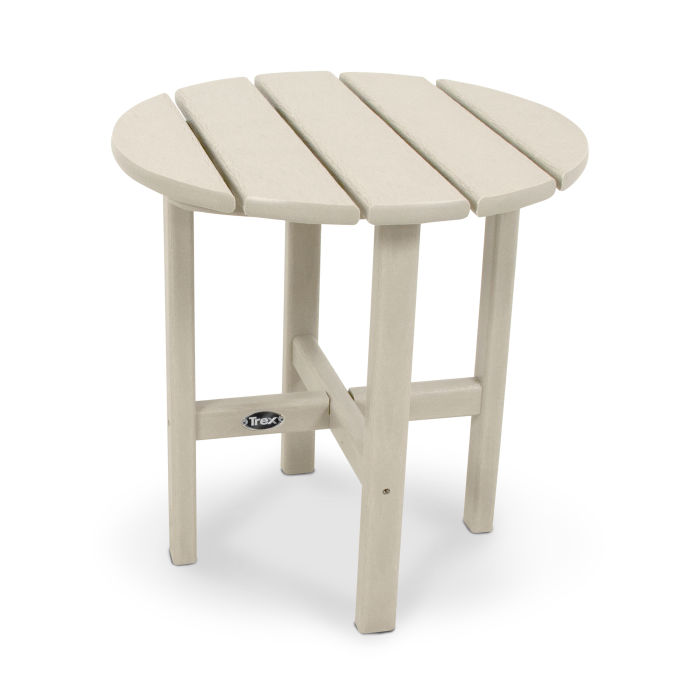 """Cape Cod Round 18"""" Side Table"""