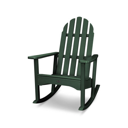 Cape Cod Adirondack Rocking Chair in Rainforest Canopy