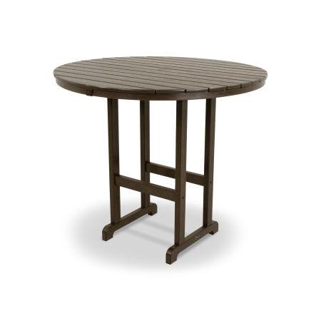 """Monterey Bay Round 48"""" Bar Table in Vintage Lantern"""