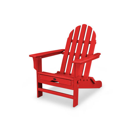 Cape Cod Ultimate Adirondack in Sunset Red