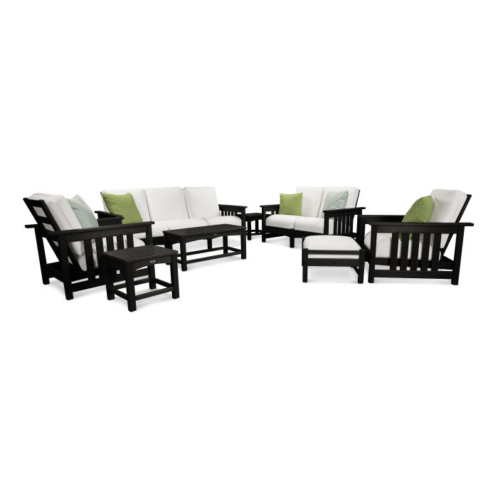 Mission 8-Piece Deep Seating Group