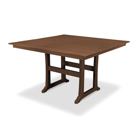"Farmhouse 59"" Counter Table in Tree House"