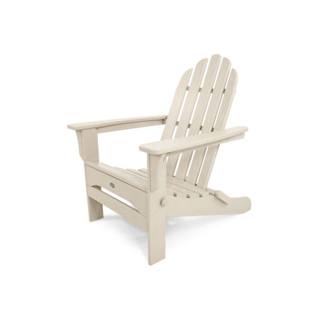 Cape Cod Folding Adirondack in Sand Castle
