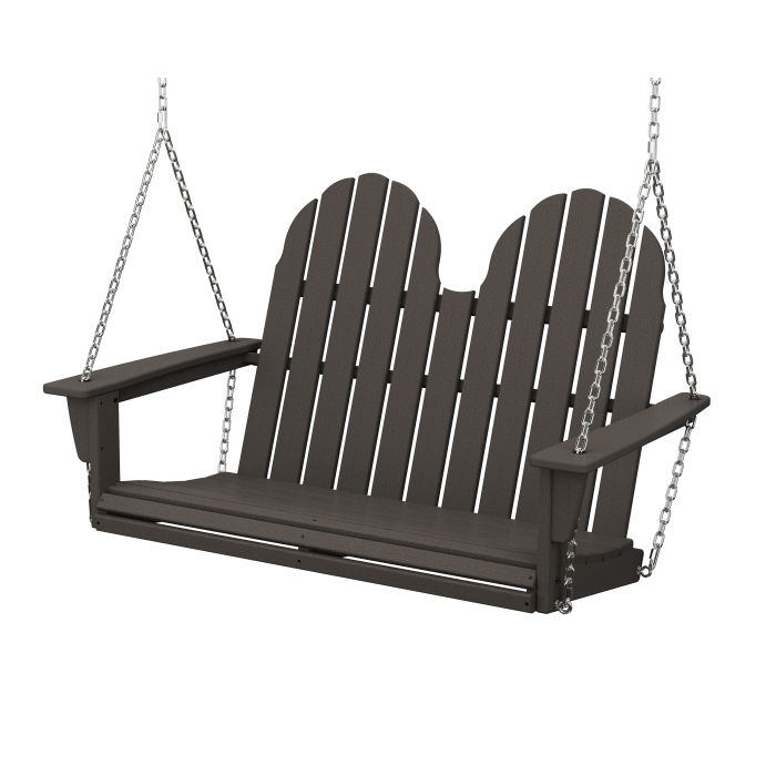 "Vineyard Adirondack 48"" Swing in Vintage Finish"