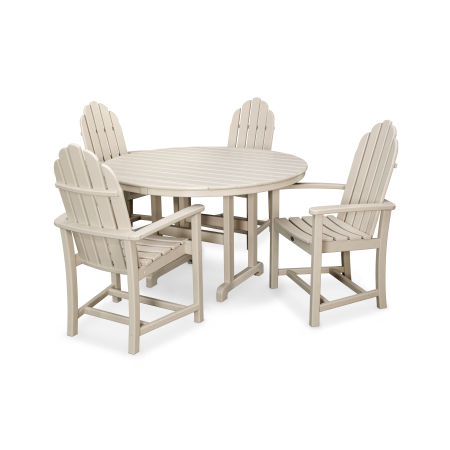 Cape Cod 5-Piece Dining Set in Sand Castle