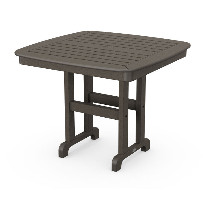 """Nautical 37"""" Dining Table in Vintage Finish"""