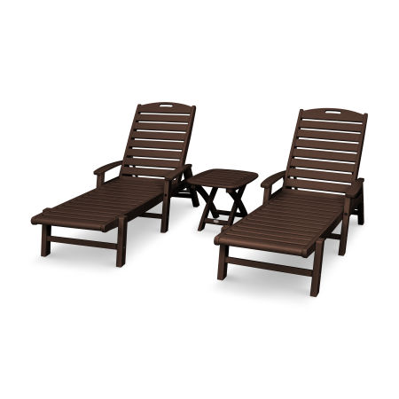 Yacht Club 3-Piece Chaise Set in Vintage Lantern
