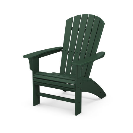 Yacht Club Curveback Adirondack Chair in Rainforest Canopy