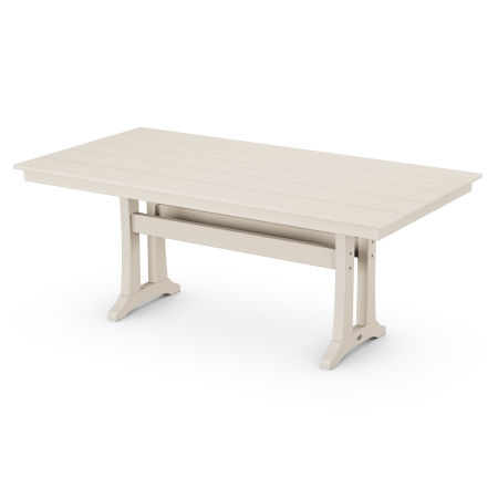 "Farmhouse 37"" x 72"" Dining Table in Sand Castle"