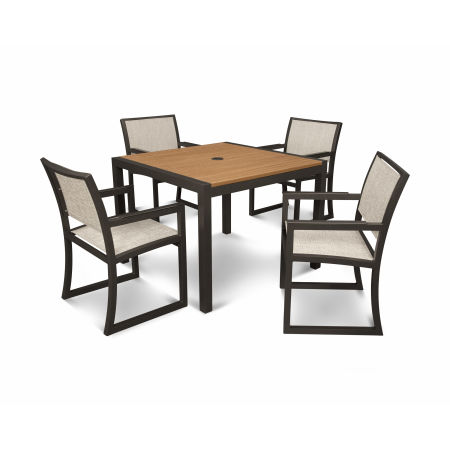 Parsons 5-Piece Dining Set