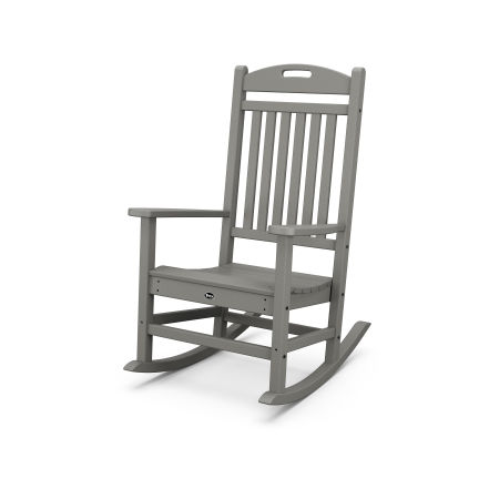 Yacht Club Rocking Chair in Stepping Stone