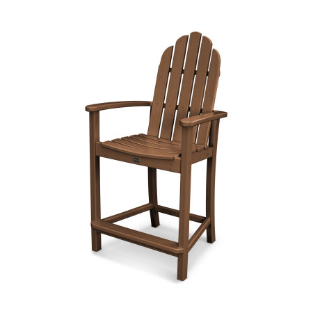 Cape Cod Adirondack Counter Chair in Tree House