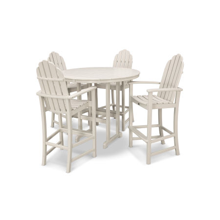 Cape Cod 5-Piece Bar Set in Sand Castle