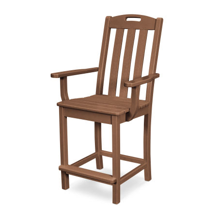 Yacht Club Counter Arm Chair in Tree House