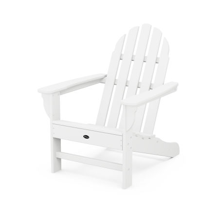 Cape Cod Adirondack Chair in Classic White