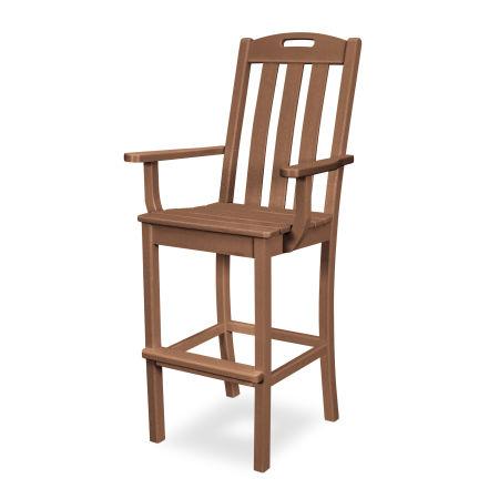 Yacht Club Bar Arm Chair in Tree House