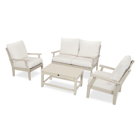 Yacht Club 4-Piece Deep Seating Chair Set