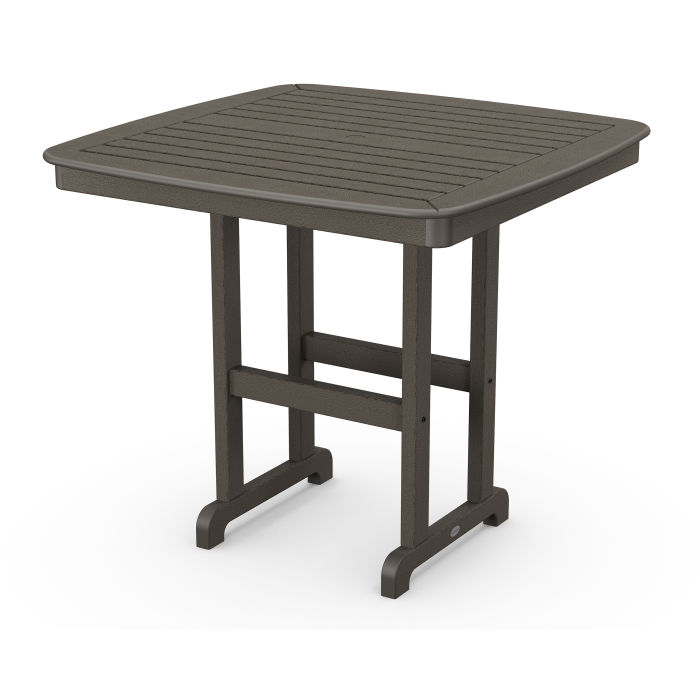 """Nautical 44"""" Counter Table in Vintage Finish"""