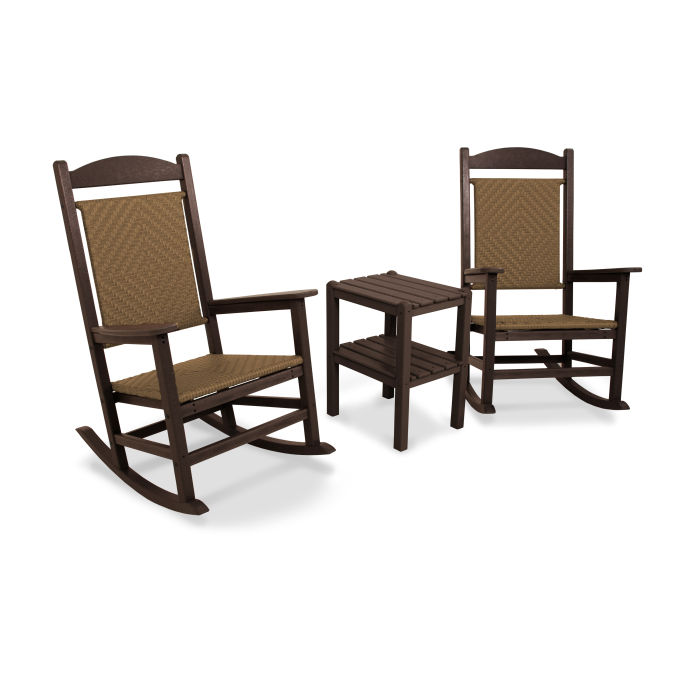 Presidential Woven Rocker 3-Piece Set