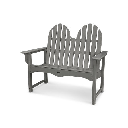 "Cape Cod Adirondack 48"" Bench in Stepping Stone"