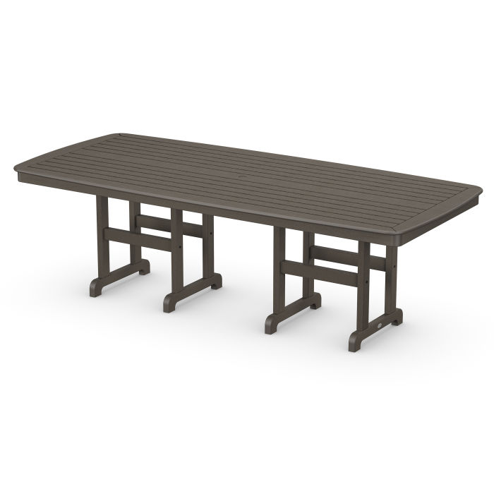 """Nautical 44"""" x 96"""" Dining Table in Vintage Finish"""