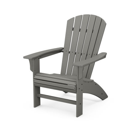 Yacht Club Curveback Adirondack Chair in Stepping Stone